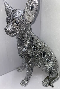 SILVER ART CHIHUAHUA By LESSER & PAVEY Ornament
