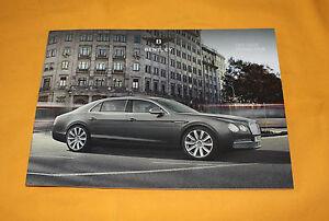 Bentley Flying Spur 2013 Prospekt Brochure Prospetto Catalog Folder Prospect