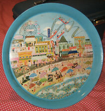 Vintage Pepsi Cola Coney Island Metal Serving Tray