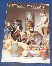ANTIQUE COLLECTING MAY 1994 - RADIO REVISITED/CONTEMPORARY BRITISH GLASS