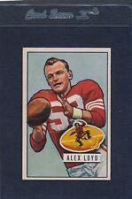 1951 Bowman #031 Alex Loyd 49ers EX 51B31-40615-2