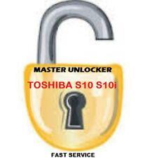 Toshiba TS10  TS10i UNLOCK CODE WORLDWIDE