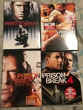 Prison Break DVD's Season's 1-4 Brand New