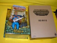 HE-RO 2 2015 MASTERS OF the UNIVERSE MISB newACTION FIGURE CLASSICS MOTUC MATTEL