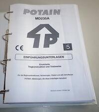 Teilekatalog / Spare Parts list Potain MD 253 A Kran / crane Stand 1992 - 1999