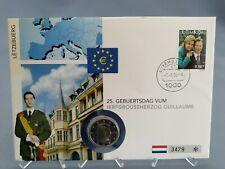 2 Euro Numisbrief Luxemburg -25 Geburtstag Erbgroßherzog Guillaume 2006  Eiamaya
