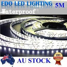 Waterproof Cool White 600 LED 12V 5M 3528 SMD Leds Strip Light caravan Camping