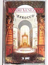 """CASSETTE TAPE  / RONDO VENEZIANO """"BAROCCO""""  / STILL SEALED"""