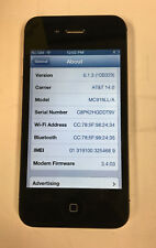 Apple iPhone 4s - 16GB - Black (AT&T) MC918LL/A A1387 (CDMA + GSM) TESTED