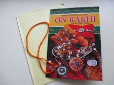 Quality Raksha Bandhan card With Rakhi C19