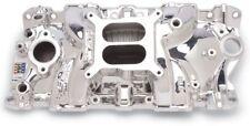 EdelBrock 27014 Endurashine Aluminum Intake SBC Performer EPS Chevy 305 327 350