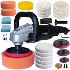 Vossner® Poliermaschine 1400W Schleifmaschine Auto Polierer 100-3000 U/min Set 1
