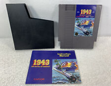 NES 1943 The Battle of Midway complete with manual and sleeve tested Nintendo