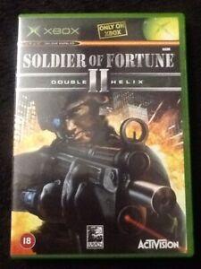 Original Xbox Soldier of Fortune II Double Helix