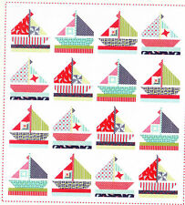 Smooth Sailing - fun pieced quilt PATTERN - Cotton Way