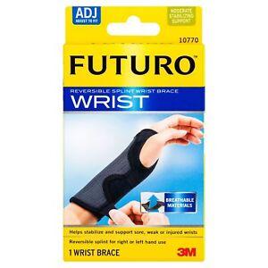 Futuro Adjustable Reversible Splint Wrist Brace Adjustable 10770