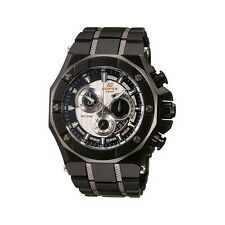CASIO EDIFICE Men EFX510BK-1A Black 3subdial Stainelss Steel bracelet