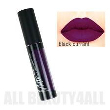 LA Girl Matte Lipstick, Lip Gloss Flat Finish Pigment - GLG 846 Black Currant