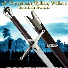 "43 "" Braveheart William Wallace Scottish Claymore Sword"