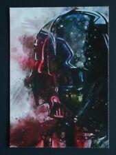 Star Wars ACEO DARTH VADER original art card