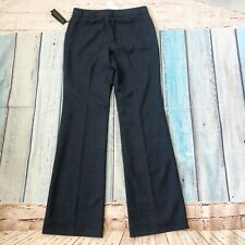 NWT Banana Republic 8L Stretch Women's Pants Trouser Martin Fit Gray Wool New