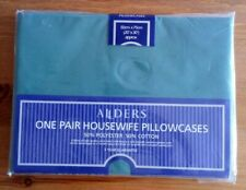"""Dark green housewife  pillow cases 20"""" x 30"""".  New"""