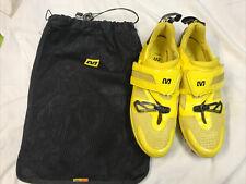 Custom Mavic Ergoride  custom MTN tri shoe size 7 EU40