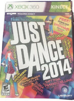 Just Dance 2014 Xbox 360 Kids Kinect Game Dancing Fast Ship Family Fun Very Good