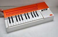 Vintage Italian BONTEMPI Organ. Retro & Working. Musical Instrument / Keyboard