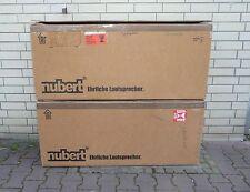 nubert nuVero 11 Bedienungsanleitung + 2 x Versandkarton Leerkarton Karton leer