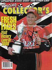 DALE EARNHARDT JR AUTOGRAPHED FEBRUARY 2001 RACING COLLECTORS NASCAR MAGAZINE