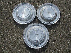 Factory original 1958 Desoto Adventurer Firedome wheel covers hubcaps