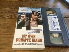 My Own Private Idaho VHS River Phoenix, Keanu Reeves, James Russo RARE USED