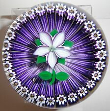 Selkirk Glass Flower Basket Paperweight Ltd Ed.