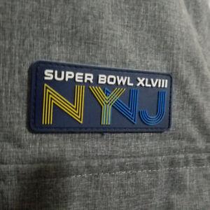 Rare VIP NY/NJ Super Bowl XLVIII Men's Medium 12 Pocket Winter Parka Jacket