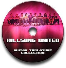 HILLSONG UNITED CHRISTIAN WORSHIP ROCK GUITAR TAB TABLATURE SONG SOFTWARE CD