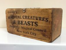 MAGICAL CREATURES & BEASTS WOODEN BOX FOR STORING POTIONS & SPELLS. Harry Potter