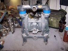 Ingersoll Rand 1 12 Aluminum Double Diaphragm Pneumatic Pump Pd15a Aap Aaa