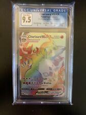 Pokemon Champions Path Secret Rare Rainbow Charizard CGC 9.5 074/073