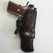 "Colt 1911 5"",Springfield,Remington,Kimber, Right Hand Leather Holster"