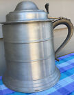 Seymour Mann Imp. Pewter Ice Bucket Oversize Beer Stein Made In Italy*