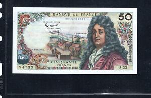 Billet 50 Francs Racine 08/11/62 SUP Fay 64-02
