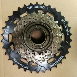 MF-TZ500 -7 Shimano Bicycle Freewheel 6 Speed 14 - 34 t SIS Thread On ATB Road