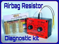 DECADE BOX TESTING and 100 mixed resistors bypass airbag light reset mot