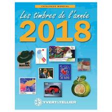 Catalogue Mondial des Nouveautés de timbres 2018 en couleurs.