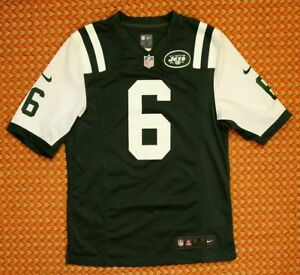New York Jets, NFL Jersey by Nike, Mens Small, #6 Sanchez