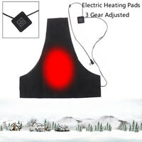 USB Electric Heating Pad 3 Gear Adjustable Thermal Clothing Heated Vest WarmSPUK