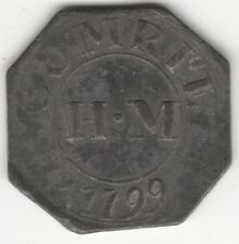 More details for 1799 scotland comrie perthshire communion church | tokens | pennies2pounds