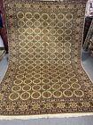 7X10 Very Unique Handmade Uzbek Tribal Sarouq Design high quality 100%  wool rug