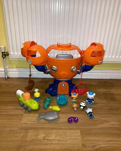Octonauts Bundle Job Lot Toys Octopod Playset Figures Sea Creatures Accessories